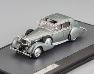 ALVIS 4.3 l Saloon Cross & Ellis Charlesworth (1938), metallic grey