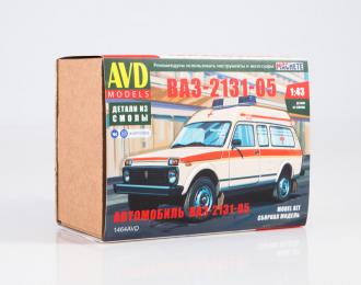 Сборная модель Волжский автомобиль 2131-05