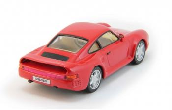 PORSCHE 959, Суперкары 61, orange