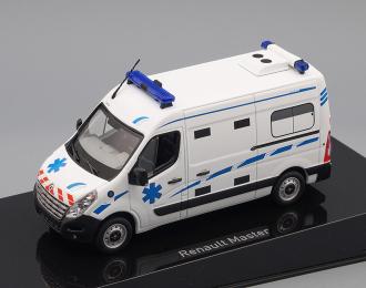 """RENAULT Master III """"Ambulance"""" France (2011), white"""