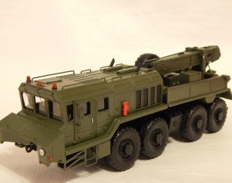 Сборная модель Тяжелый эвакуационный тягач КЭТ-Т на шасси КЗКТ-74281-012 Русич
