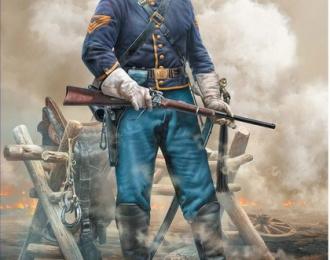 Сборная модель Наготове. Сержант кавалерии
