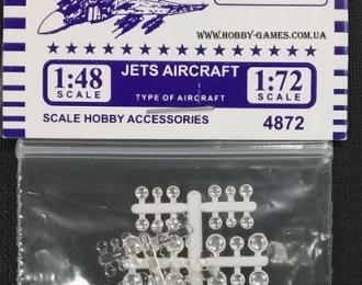 Оптика для авиации и техники 1:72 и 1:48 (набор 48 шт.)