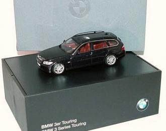 BMW 3er Touring E91 (2005), black