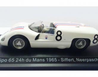 MASERATI Tipo 65 #8 Siffert/Neerpasch 24h du Mans 1965