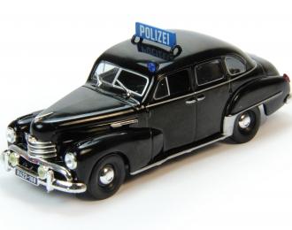 OPEL Kapitan Полиция ФРГ (1951), Полицейские Машины Мира 68, черный