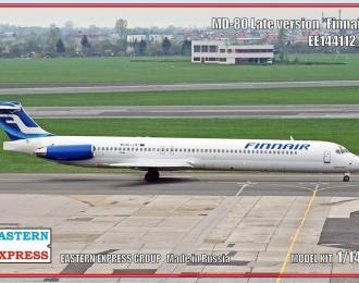 Сборная модель Авиалайнер MD-80 поздний Finnair (Limited Edision)