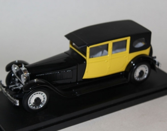 BUGATTI 41 Royale Mod. C.C. (1927), black/yellow