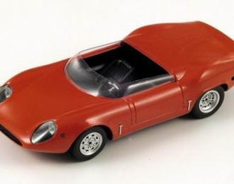ABARTH FIAT Sport Spider OT 1600 1965, red