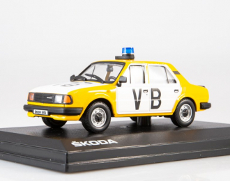 Skoda 120L VB (1984), yellow / white