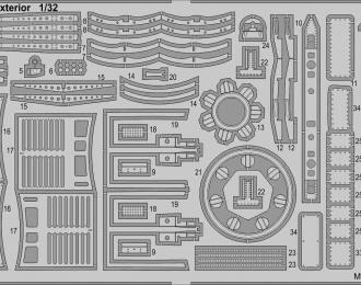 Фототравление для TF-104G экстерьер
