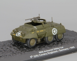 M20 Armored Utility Car, 6th (US) Cavalry Regiment, Germany 1945