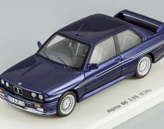 BMW Alpina B6 3.5S (E30), dunkel blau-metallic