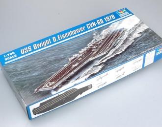 Сборная модель Американский авианосец USS Dwight D.Eisenhower CVN-69 (1978г.)