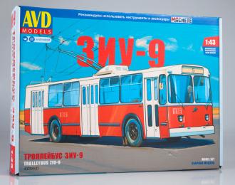 Сборная модель Троллейбус ЗИУ-9