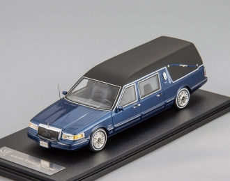 LINCOLN Towncar S&S Hearse (катафалк) 1997 Metallic Blue