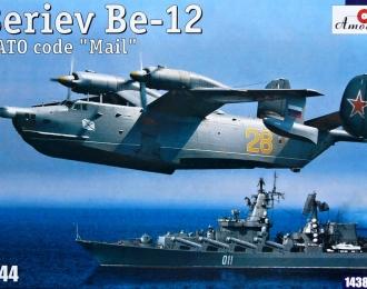 Сборная модель Советский противолодочный самолёт-амфибия Бе-12
