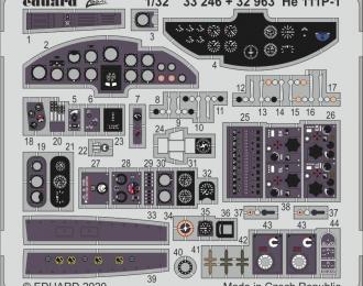 набор фототравления для He 111P-1