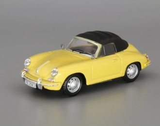 PORSCHE 356B Cabriolet Soft Top, light yellow