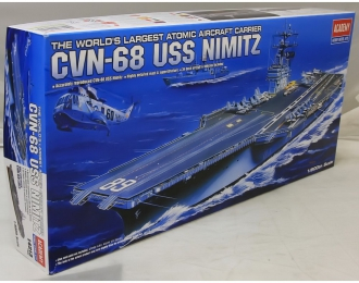 Сборная модель авианосец CVN-68 USS Nimitz