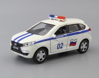 LADA XRAY Полиция, белый