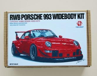 Конверсионный набор Rwb Porsche 993 Widebody Kit (Resin+PE+Decals)