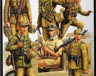 Сборная модель Германская пехота. Африканский корпус.