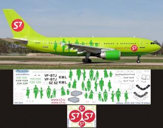 Декаль на самолет Arbus A310-300 (S7 Arlines)