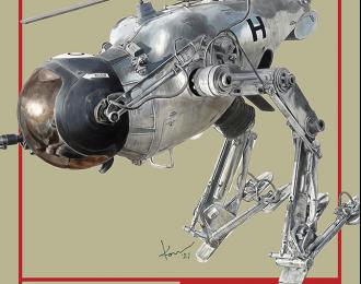 Сборная модель Боевой робот Camel LUM-168 Operation Dynamo