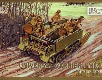 Сборная модель Британский 76-мм самоходный миномет на шасси Universal Carrier I Mk.II