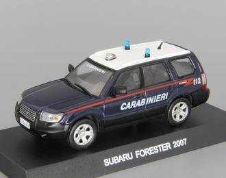 (Уценка!) SUBARU Forester IV Carabineri (2007), СпецВыпуск 3, dark blue / white