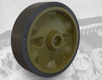 Набор дополнений штампованные дорожные колеса HMC комплект A для легкого танка США M5A1 / M8 штампованные дорожные колеса HMC комплект A
