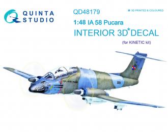 3D Декаль интерьера кабины IA 58 (для модели Kinetic)