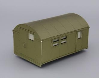 Кузов унифицированный нормального габарита КУНГ-1М (вариант 2), хаки