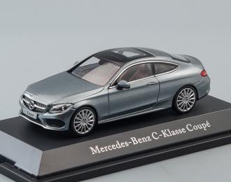MERCEDES-BENZ C-Class Coupe C205 (2016), grey selenit