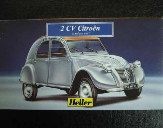 Сборная модель CITROEN 2CV