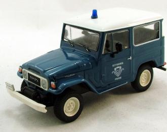 TOYOTA Land Cruiser FJ40, Полицейские Машины Мира 18, голубой