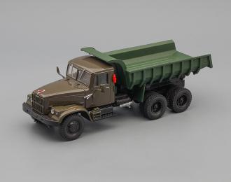 КРАЗ 256Б самосвал (1969-1977), зеленый