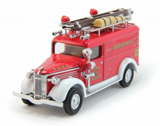 GMC Rescue Squad Van, Models of Yesteryear (1937), red