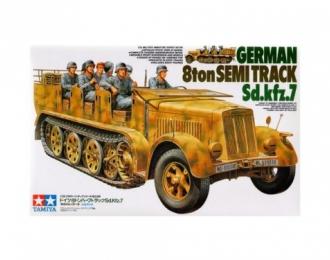Сборная модель Немецкий восьмитонный полугусеничный тягач Sd.kfz.7.Ограниченный выпуск!!!