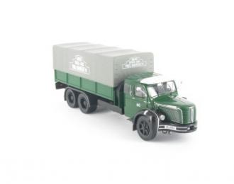 BERLIET GLM M1 (France 1956), серия Camions DAutrefois 40, зеленый