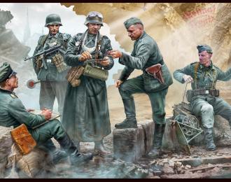Сборная модель Фигуры, Немецкие военнослужащие, период Второй мировой войны