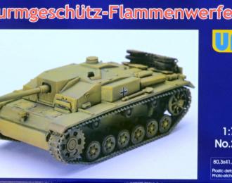 Сборная модель Немецкий огнеметный танк Sturmgeschutz Flammenwerfer