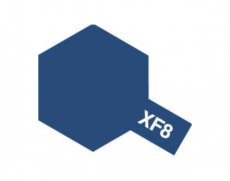 XF-8 Flat Blue (краска эмалевая, синий матовый), 10мл.