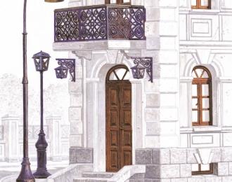 Сборная модель Аксессуары для зданий