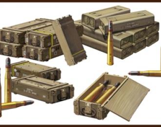 Сборная модель British 17pdr Ammunition Set