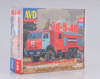 Сборная модель АЦ-5-40 (КАМАЗ-43118)