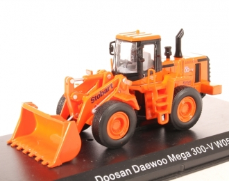 Doosan Daewoo Mega 300-V, orange