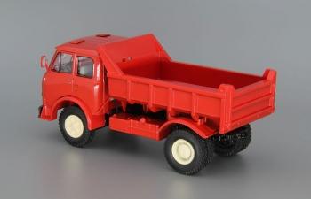 МАЗ 503А самосвал (1970), красный