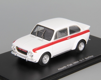 ABARTH Fiat 1600 O.T Berlina, white / red